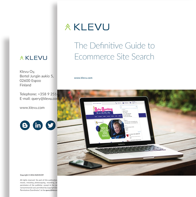 The Definitive guide to ecommerce site search